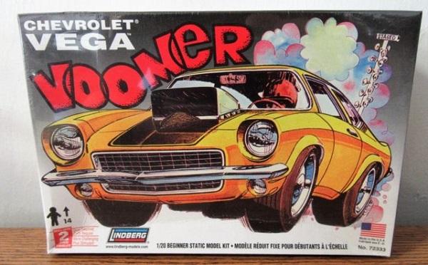Lindberg 72333 Chevrolet Vega Voomer 1 20 Scale Plastic Model Kit
