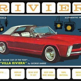 AMT #1121 1965 Buick Riviera 3 in 1 Customizing Kit 1:25 Scale Plastic  Model Kit