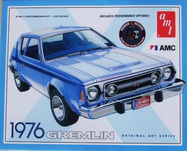 AMT #690 1976 AMC GREMLIN 2 in 1 1:25 Scale Plastic Model Kit