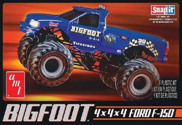 Amt  Bigfoot Ford F   Plastic Model Kit
