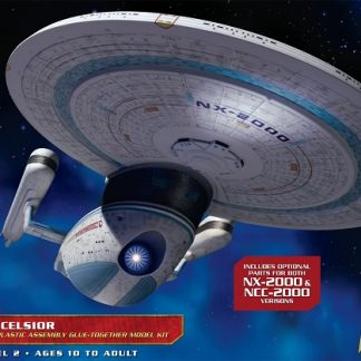 AMT #955 Star Trek The Next Generation U S S  Enterprise NCC-1701-D 1:1400  Scale Plastic Model Kit
