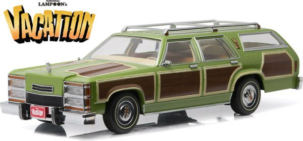 Greenlight 19013 National Lampoon S Vacation Wagon Queen Family