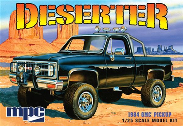 MPC #848 Deserter 1984 GMC Pickup 1:25 Scale Plastic Model Kit