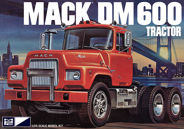 Mpc 859 Mack Dm 600 1 25 Scale Plastic Model Kit