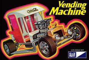 MPC #871 Vending Machine 1:25 Scale Plastic Model Kit