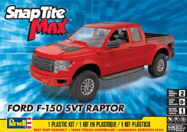 Revell  Ford F  Svt Raptor  Scale Plastic Model Kit