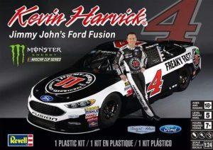 Revell #4218 Kevin Harvick Jimmy John's Ford Fusion NASCAR 1:24 Scale  Plastic Model Kit