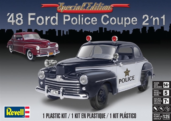 Revell 4318 1948 Ford Police Coupe 2 N 1 1 25 Scale