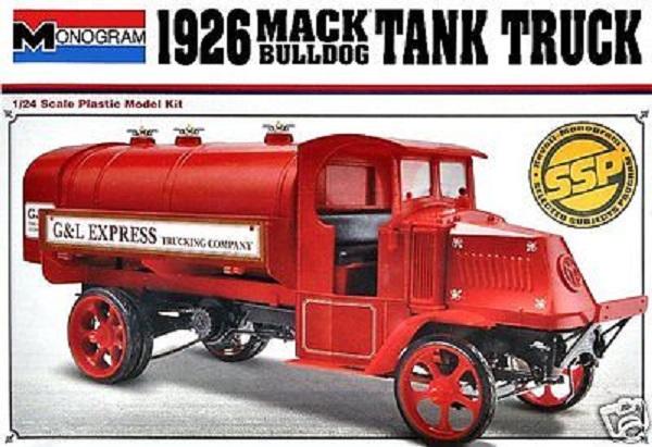 Mack Truck Model Kits : Revell monogram mack bulldog tank truck ssp