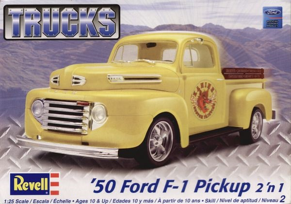 Revell   Ford F   N Pickup Truck  Scale Plastic Model Kit