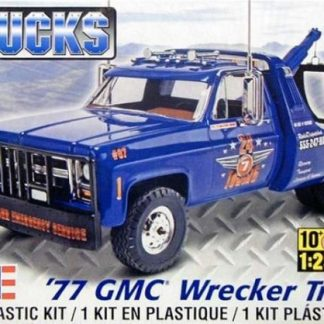 Revell   Gmc Wrecker Truck  Scale Plastic Model Kit