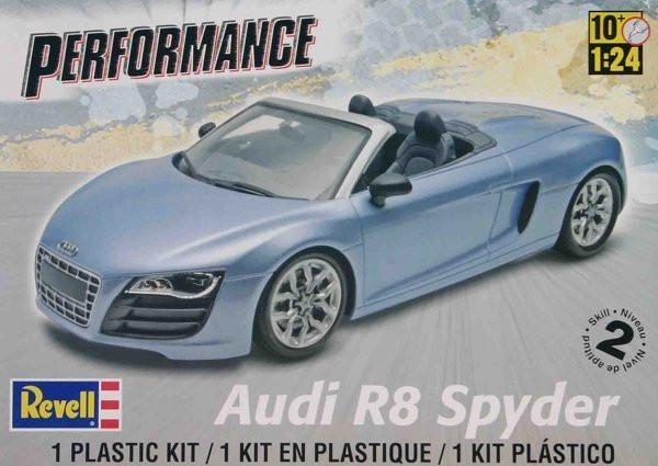 Revell #4940 Audi R8 Spyder 1:24 Scale Plastic Model Kit